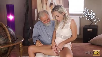 OLD4K. Shanie Ryan graduated from college and enjoys old and young sex
