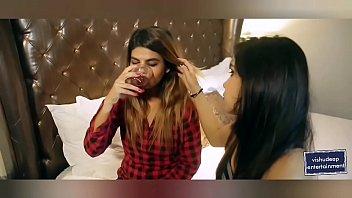 indian lesbian kiss & sex scene
