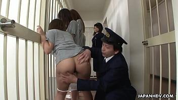 Japanese slut captive in Jail and fucked
