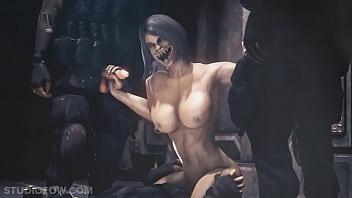 Mortal Kombat lesbické porno