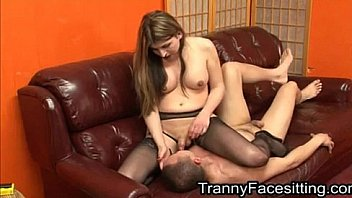 Tranny Dominates Straight Guy And Makes Him Suck