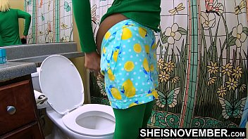 I Impregnate My Wife Ovulating Daughter For Stealing My Cash, Young Black Whore Msnovember Get Pussy Cumshot Without Her Permission, Straddling Daddy BBC Sperm Spilling From Coochie, Hardcore Riding Taboo Family Sex POV High Definition  on Sheisnovember