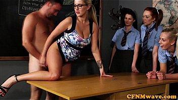 CFNM sex undervisning fra l?reren,...