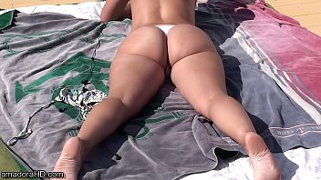 MILF wearing wicked weasel bikini