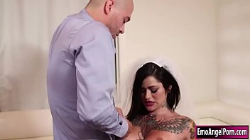 Watch Busty tattooed Juliana Rose is crying because she wants a cum on her tattoo.Guy helps her and he pulls out his dick and lets Juliana suck it.He fucks Julianas big tits first before he rams her pussy until he cums on her tattoo. preview