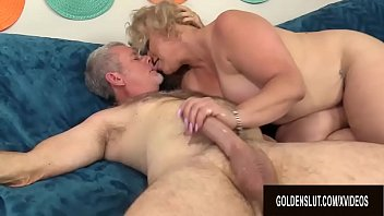 Big Booty Mature Slut Summer Rides an Old Cock