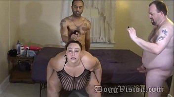 Husband Films BBW Swinger Wife with Black Man