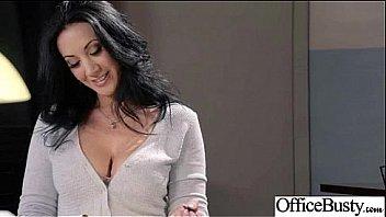 (jayden jaymes) Big Tits Office Slut Girl Get Hard Style Nailed video-20