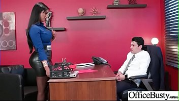Hot Sex In Office With Big Round Boobs Girl (Mary Jean) video-18