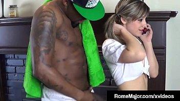Young Student Jayla Diamond Gets Slammed By BBC Rome Major!