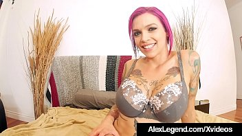 French Fuck Master Alex Legend & bro Chris Strokes, whip out their tools to drill Inked Milf Anna Bell Peaks who totally needs two cocks inside her mouth & wet juicy pussy like, asap! Hot 3some!