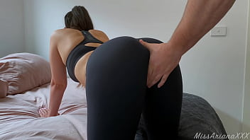 Stepsis fucks with her big ass after workout