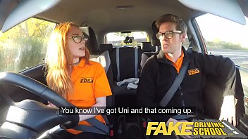 Watch amateur in glasses fucked and jizzed on ‣ Redhead taxi driver fucked by car owner preview
