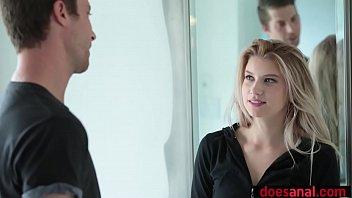 Busty Blonde Teen Prefers Anal With Her Boyfriend