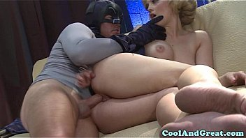 Loving Alexis Texas sucks batmans dick