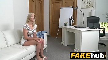 Fake Agent Blonde Beauty In Casting Couch Fuck thumbnail