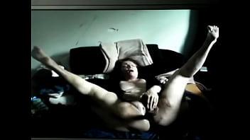 Return of the shaved mature dildo lover
