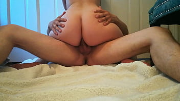 Slutty russian wife vagina vibrating from lots of anal orgasms and trying first time twerk on camera