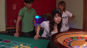 Hot japan girl Hinata Tachibana licking dick in asian porn scene