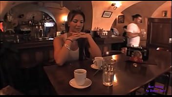 The busty woman agrees to fuck in the pub bathroom in exchange for a sum of money