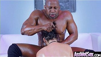 Anal Sex Tape With Hot Oiled Sexy Huge Butt Girl (Aleksa Nicole) video-01