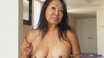 a new dildo for my asian granny