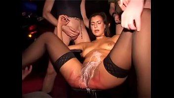 Kinky Geman MILF Donna Lucia (Gangbang with Urine)