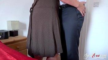Horny mature lady and her handy lover hardcore
