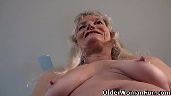 Pantyhosed grandma Claire will seduce you with her old tits and sweet matured pussy (now available in Full HD 1080P). Bonus video: USA granny Bossy.