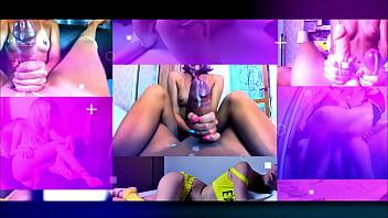 Homemade Cumshot Compilation! Blonde Girl! Long Nails! Sperm! HandJob! AliceMargo.com