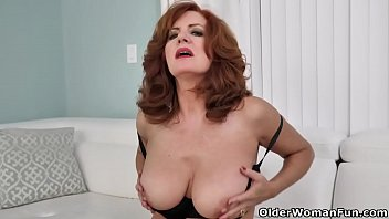 Watch Hot bodied milf Andi James from the USA strips off her evening dress and fingers her fuckable pussy. Bonus video: American milf Amber. preview