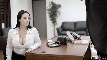 Big boobs council woman MILF pressured into a fuck