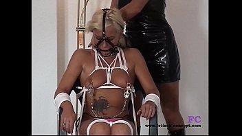 b. bondage date with 2 girls