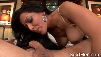 Watch Huge Boobs Kiara Mia Sucking Cock and Banged preview