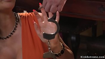 Watch Robber Tommy Pistol breaks in house of huge tits Milf Jasmine Jae and then in rope bondage anal fucks her with big dick while vibrates her clit preview