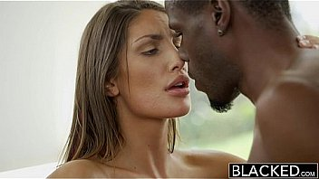 Blacked August Ames Gets An Interracial Creampie thumbnail