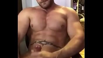Muscle wolf ass copulation with facial cum