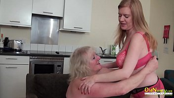 Two busty mature lesbians trying toys in pussy