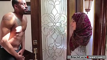 Hot Arab Babe Rammed Hard By Her Neighbors Big Black Dick