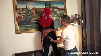 Watch Nice Muslim girl with big boobs and angel face. She wears nice dress, shrouded in red hijab. Big boobs Chloe cleansed at home. Her husband watched at her great body and then she sucked his cock.   He ejaculated od her boobs preview