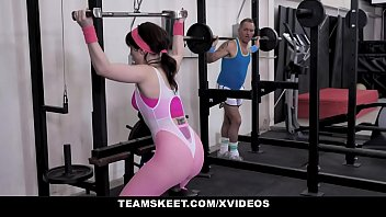 Hot Amateur (Kiara Edwards) Fucked Hard In The Gym! - The Real Workout