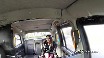 Amateur babe gets ass to mouth in fake taxi Thumbnail
