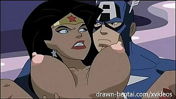 Superhelt Hentai - Justice League...
