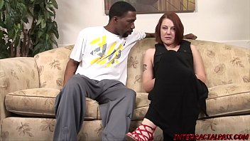 Red Head MILF Gets a Big Black Cock in her Pussy