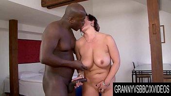GrannyVsBBC - Big Tits Jessica Hot