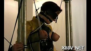 Sex-toy porn in bondage video Thumbnail