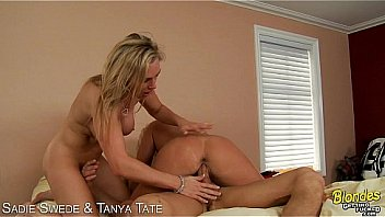 Watch Blondes Sadie Swede and Tanya Tate gets fucked in threesome preview