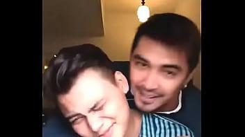 Mr.Gay World 2016 John Raspado and his Boyfriend