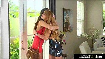 Lez Girls (Victoria Rae Black & Mikayla Mico) In Sex Action clip-29