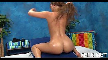 Hot breast massage